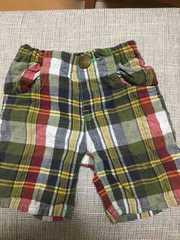 男の子用半ズボン、春夏もの 90cm