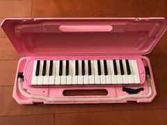 used 鍵盤ハーモニカ(メロディピアノ)ピアニカ ピンク