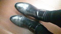 愛用ブーツ 難あり