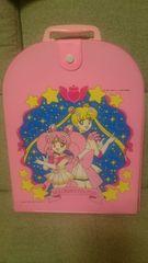 中古 貴重!当時モノ セーラームーン 人形ケース(バッグ) 1995