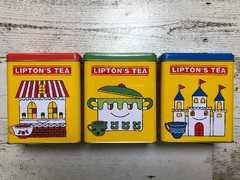 非売品 リプトン 紅茶缶 3色セット