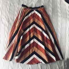 セレクトショップ購入 美品 サーキュラー ロング スカート