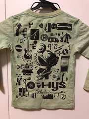 ヒステリックのロングTシャツ。