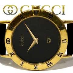 極レア 1スタ★グッチ/Gucci【スイス製】3000M メンズ腕時計