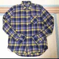 新品同様チェックシャツ送料込み即完売カラーSサイズ