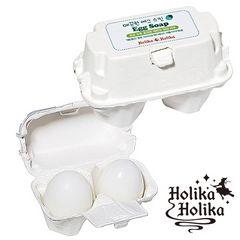 HolikaHolika(ホリカホリカ) 滑らかエッグソープ50g×2 韓国コスメ 洗顔