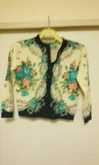 花柄セーター♪