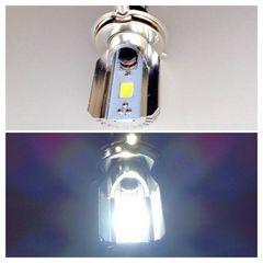 ヘッドライト純正交換LEDバルブ H4 ハイ/ロー 切り替え 2個