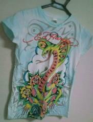 used 美品 「Ed Hardy」 和柄 Tシャツ