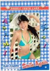 甲斐麻美 生写真カード1枚 sakuradou2008 ビキニ姿