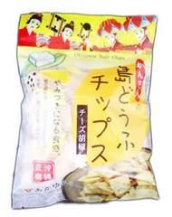 【ご当地お菓子】 沖縄 島どうふチップス チーズ胡椒 O44M-14