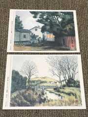 のらくろ ポストカード2枚★昭和レトロ 田河水泡 のらくろ館限定
