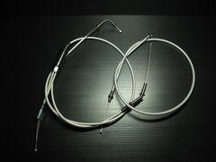 RZ250/RZ350(4L3/4UO) メッシュワイヤーSET+20cmロング新品!日本製
