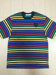 nitraid BORDER TEE(BLACK×MULTI/M)(09S/S)