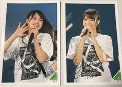 永谷園×欅坂46フォトカード2枚(菅井友香・小林由依)