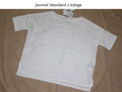 ジャーナルスタンダード*journal standardチェックレースプルオーバー新品
