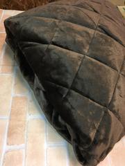 新品☆190×190cm2畳ラグにかぶせるカバー暖か♪s280