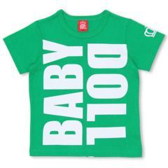 新品BABYDOLL☆ロゴ Tシャツ 140 グリーン ベビードール