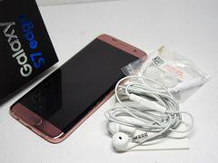 ●安心保証●美品●au SCV33 Galaxy S7 edge ピンク●