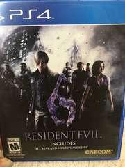 PS4★RESIDENT EVIL6  北米版
