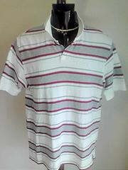 美品即決送料無料 リーボック 半袖ポロシャツ ボーダー柄 ゴルフ