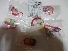 夏目友人帳ニャンコ先生砂糖菓子根付全セット新品
