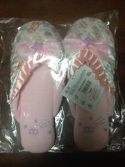 キキララ☆LITTLE TWIN STARSスリッパ新品同様未開封!