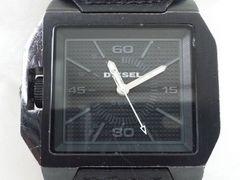 4842/DIESELディーゼル★フルブラック定価4万円位DZ-1265メンズ腕時計