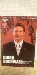 2004ブッフバルト 直筆サインポストカード