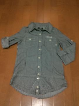☆BACKS ☆ピンストライプシャツ☆