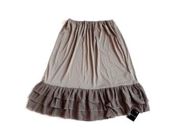 新品 定価4095円 マーブルインク  ペチコート スカート