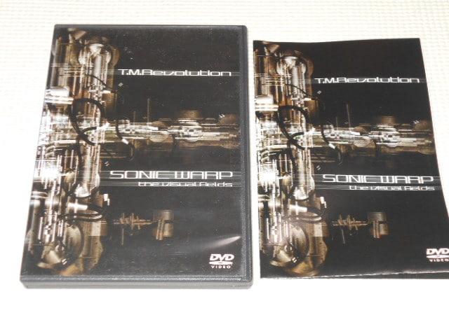 DVD★T.M.Revolution SONIC WARP the Visual Fields  < タレントグッズの