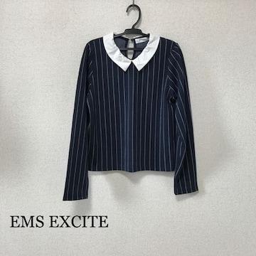 EMS EXCITE ストライプトップス
