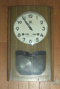 EIKEISHA30日巻き製機械式ぜんまい振り子時計動きます。