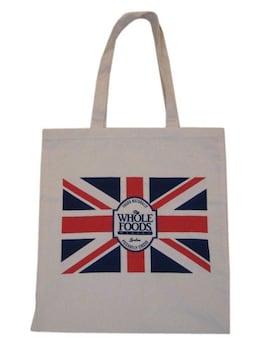 ピカデリーサーカスロンドンwhole foodsホールフーズコットンbag
