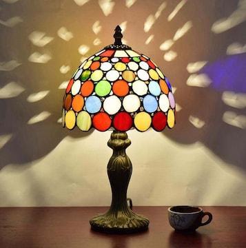 【インスタ映え】ステンドグラス風テーブル照明