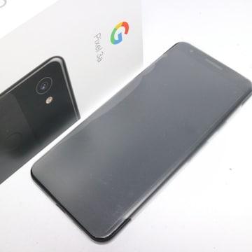 新品◆SIMロック解除済 SoftBank Google Pixel 3a  ブラック