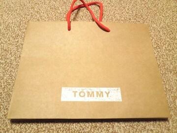 Tommy トミーショップ袋 サブバッグ プレゼント袋にも エコ