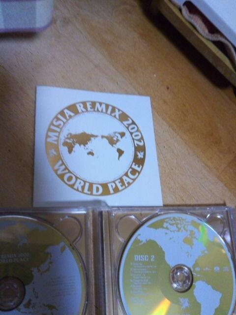 ★CD MISIA REMIX 2002 WORLD PEACE ミーシャ リミックス2002 2枚組★ < タレントグッズの