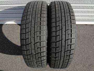 YOKOHAMA ice GUARD iG30 155/55R14 2本 深溝!9.8分山