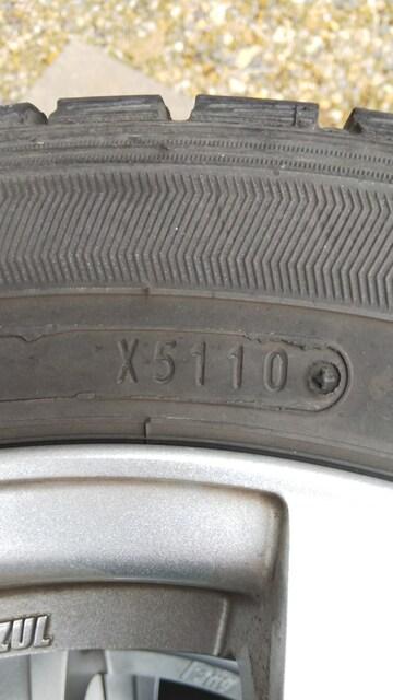 ◇ファルケン+ウェッズ4本セット155/65R14 タント使用バリ溝◇ < 自動車/バイク