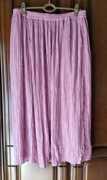 フェリシモ  大きいサイズ マキシ丈スカート