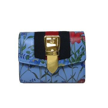 GUCCI 476081-D7U2G-4983 三つ折り財布(小銭入れなし) レディース