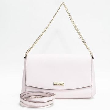 新品同様ケイトスペード ショルダーバッグ 薄ピンク 良品