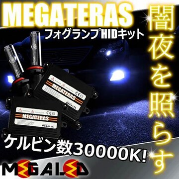 mLED】レクサスGS460前期後期/フォグランプHIDキット/HB4/30000K