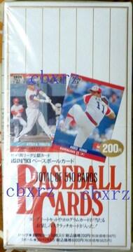 BBM93 ベースボールカード 未開封1BOX