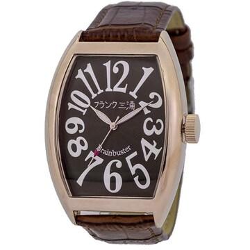 フランク三浦 腕時計 マグナム FM06K-BRRG