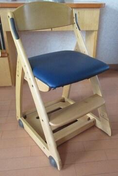 [リユース品]学習机の椅子★新小学1年生に最適☆彡