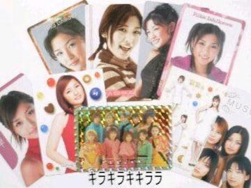 石川梨華モーニング娘。★コレクションカード/トレーディングカード9枚セット