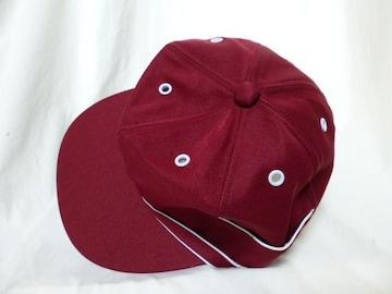 キャップ帽子ワインレッド格安ベースボール男女新品組合